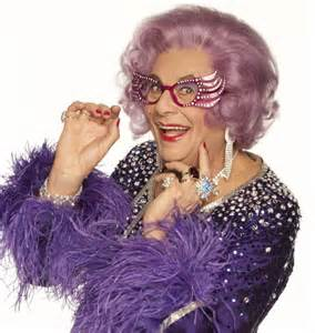 how dame edna dropped 3 dress sizes but it still took barry humphries eight months to lose more