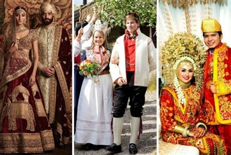 Wedding Attire Of Different Countries by Flitto Content Colorful Wedding From Different