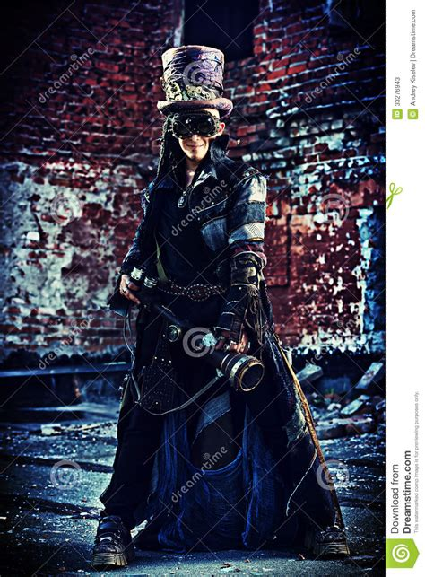 victorian warrior stock  image