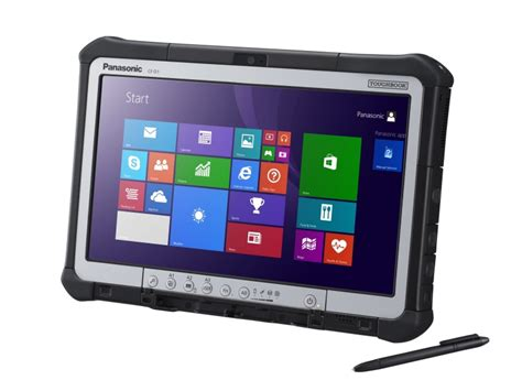 Panasonic Rugged Tablet by Panasonic Toughpad Cf D1 Mk2 Rugged Tablet