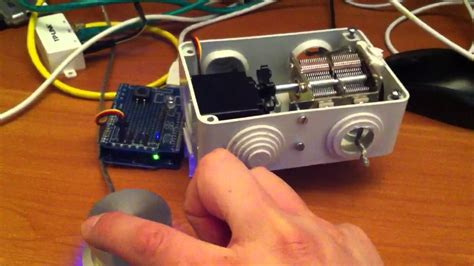 arduino antenna tuner through ethernet and powermate