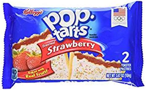 amazon.com: pop tarts toaster pastries, frosted strawberry