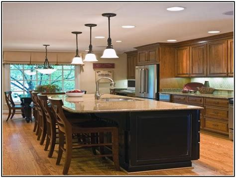 large kitchen island with seating southwest kitchen decor large kitchen island with seating