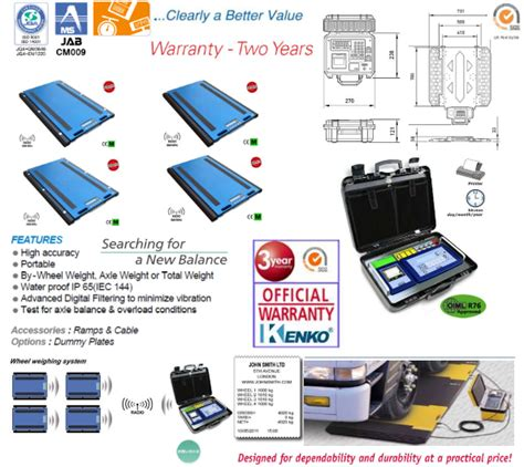 Timbangan Truk Digital jembatan timbang portable kenko pt kenko elektrik indonesia
