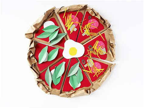 How To Make Paper Pizza - make a paper pizzeria handmade bloglovin