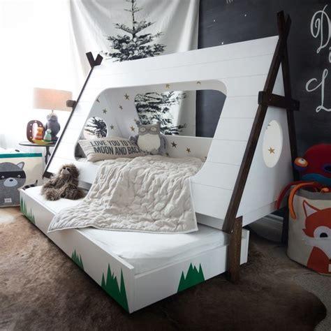 diy tepee kids bed popsugar home