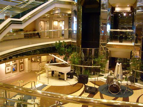 Cruise Ship Interior by Cruise Ships Lobby Interior Architecture Flickr Photo