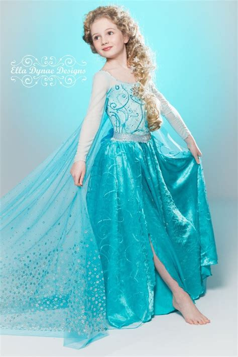 Dress Frozen original ella dynae custom elsa costume frozen ideas and costumes