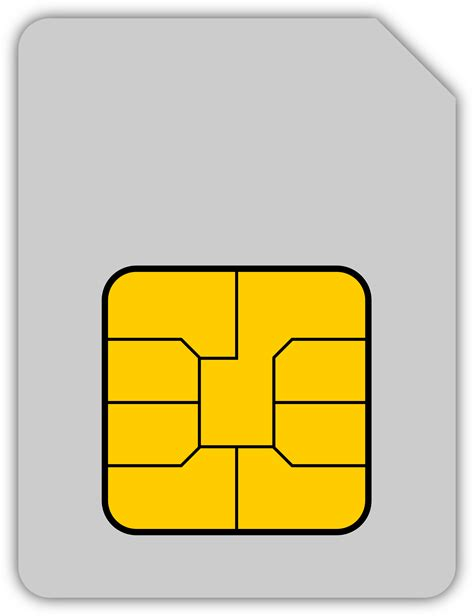 sim card mobile phone big image png