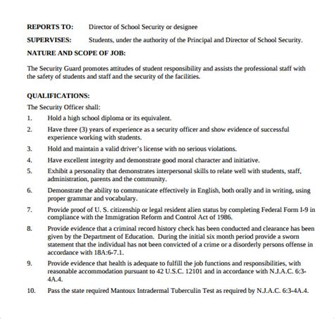 skills for security guard resume 28 images security