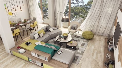 open layout apartment design 2 luxury apartment designs for young couples