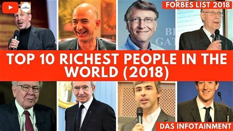 top 10 richest in the world 2018 tanoemoney top 10 richest in the world 2018