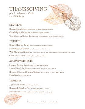 prix fixe menu template customize 59 prix fixe menu templates musthavemenus