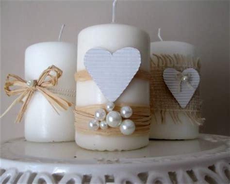 candele shabby candele shabby chic per san valentino