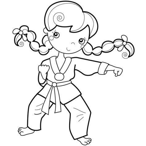 spongebob karate coloring pictures cliparts co