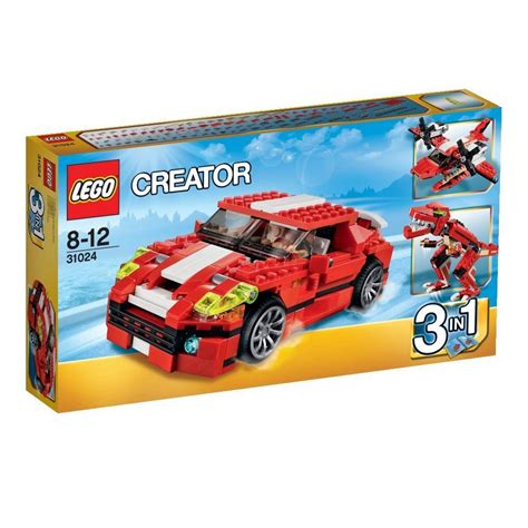 Set Sport Flow Dc 3in1 31024 lego creator roaring power car dinosaur seaplane 3 in 1 ebay