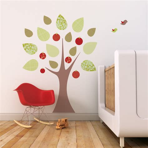 apple wall stickers reusable wall stickers 2017 grasscloth wallpaper