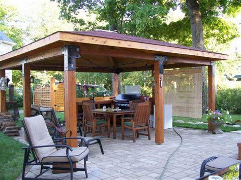 backyard gazebo plans log gazebo plans back yard ideals pinterest