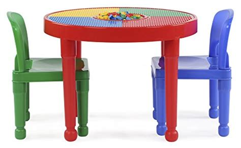 Lego Table And Chairs by Tot Tutors 2 In 1 Plastic Lego Compatible Activity