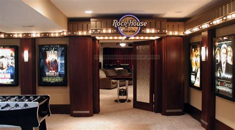 The Entrance Of A Cinema Hotel Or Theatre A Look At Some Lavish Home Theater Entrances Homes Of