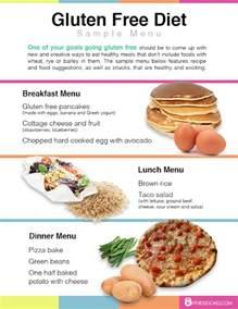 gluten free diet menu exles