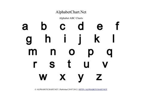 image gallery lower case alphabet
