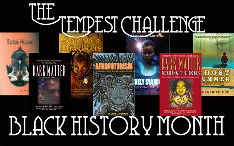 black history month challenge anthologies collections tempest challenge black