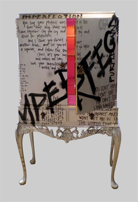 Graffiti Furniture by Let S Stick With Graffiti Simple Blueprint