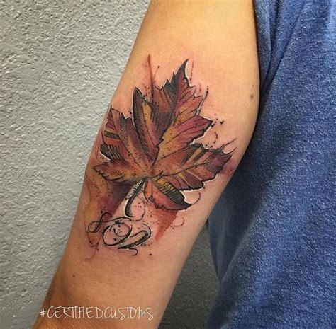 tattoo japonais quebec 1000 id 233 es 224 propos de tatouages de feuille d 233 rable sur