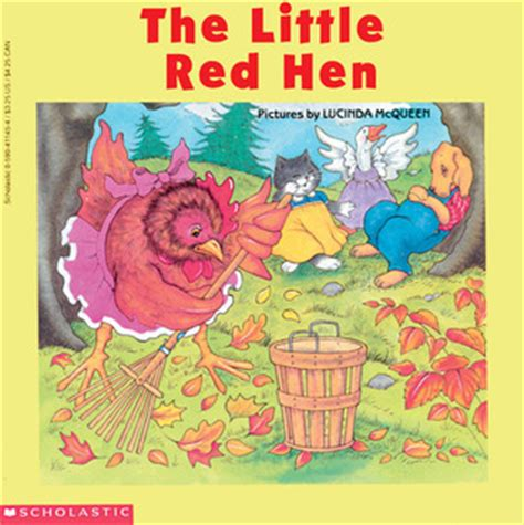 libro the little red hen the little red hen by lucinda mcqueen