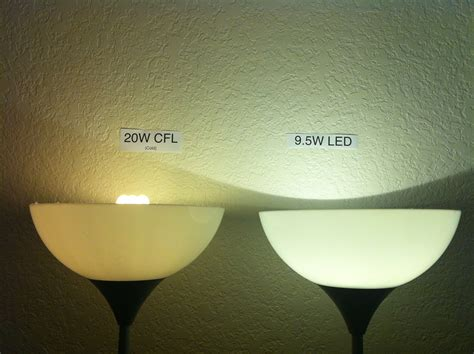 cfl bulbs vs led lights shop task lighting comparing led vs cfl vs incandescent