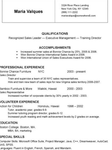 How To Write A Basic Resume For A by Resume Format Resume Writing For Results