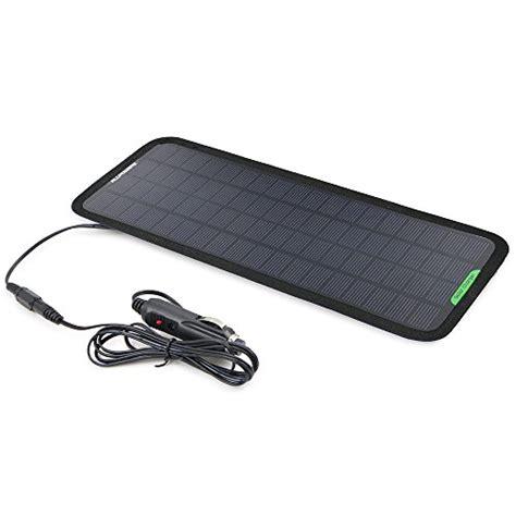 car battery charger cigarette lighter allpowers 18v 5w portable solar car battery charger bundle
