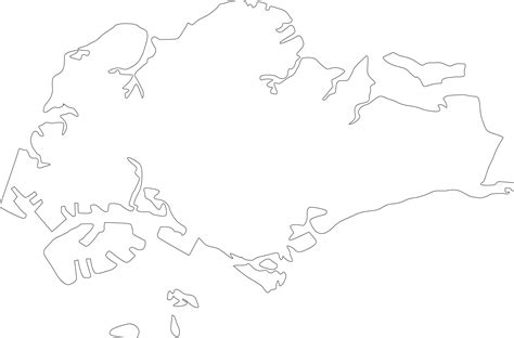 Outline Picture Of A by Geography Singapore Outline Maps