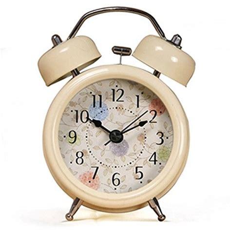 onor tech mechanical wind up clocks 3 farm vintage metal bell alarm clock ebay