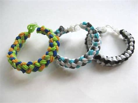 how to make double braid rainbow loom bracelets