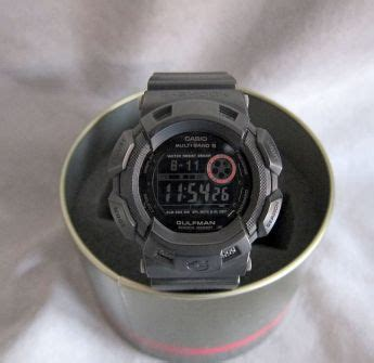 G Shock Shooter G 8078 Black casio g shock gw 9100mb quot in matte black quot gulfman quot 5