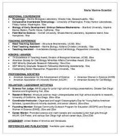 Biologist Resume Sample marine biologist resume sample resumes design