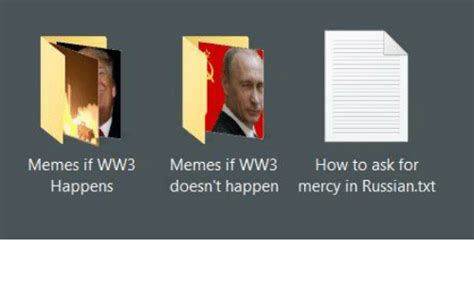 How To Create Funny Memes - memes if ww3 memes if ww3 how to ask for happens doesn t