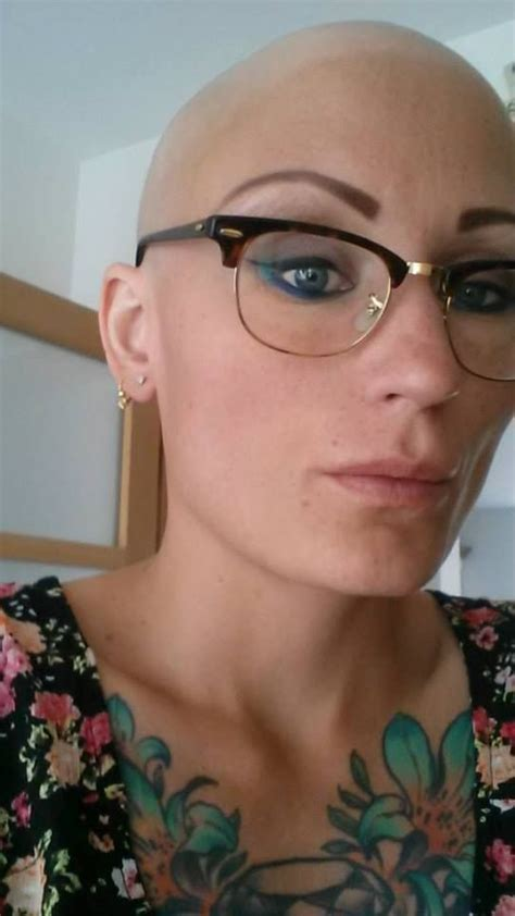 old lady headshave head shave bald women headshave haircuts beauty girls and short cuts on pinterest