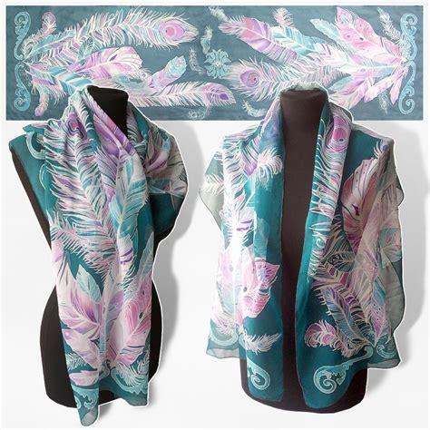 silk scarf feathers for sale by minkulul on deviantart