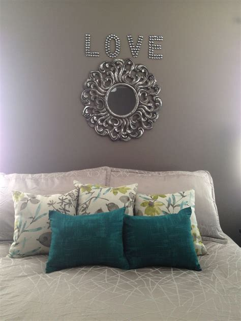 bedroom with no bed master bedroom no headboard decor above bed turquoise teal