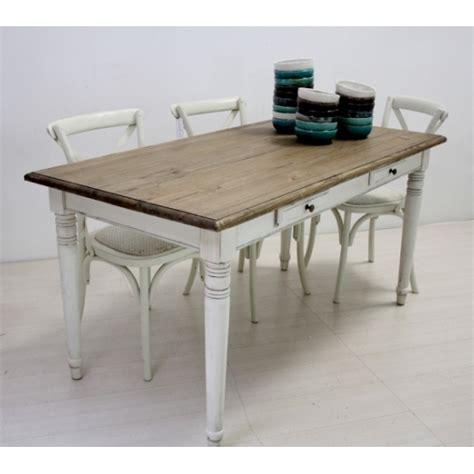 tavolo shabby tavolo legno fisso bianco shabby mobili provenzali