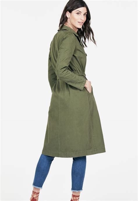 Shopping Doori Trench Coat Dress by Trench Coat Clothing In Olive Get Great Deals At
