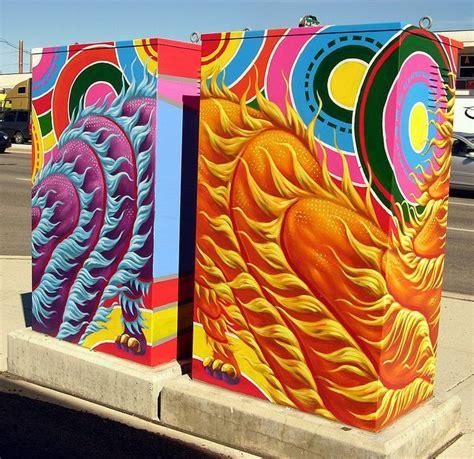 calgary utility box art  crossarthur  flickr