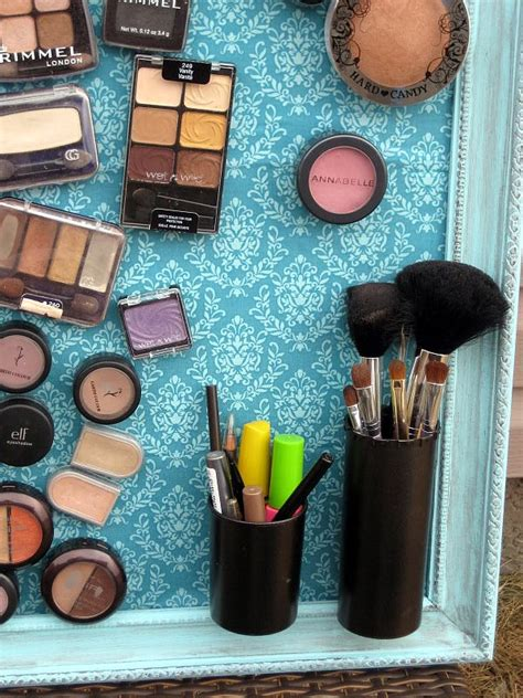 diy makeup organizer magnetic makeup board diy makeup how to make and use magnetic boards around the house