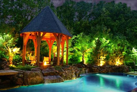 landscape lighting design ideas landscape lighting design tips techniques custom