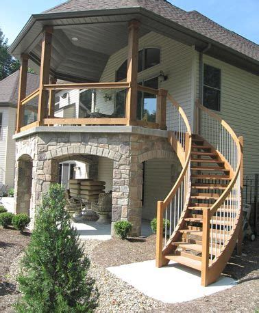 exterior staircase 25 best ideas about exterior stairs on pinterest steel