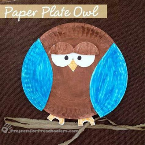 Fall Paper Plate Crafts - 17 best images about owls on owl cupcakes