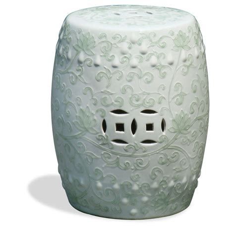 Garden Stool by Porcelain Garden Stool